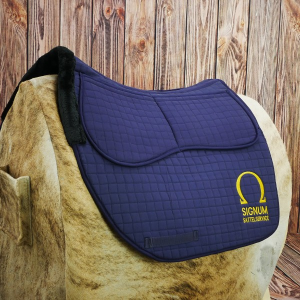 SIGNUM Saddle Pad with Pockets for Padding
