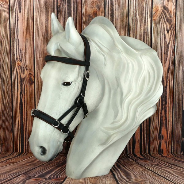 Sidepull Conde with Leather Reins
