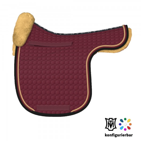 Design Your MATTES Saddlecloth with Lambskin